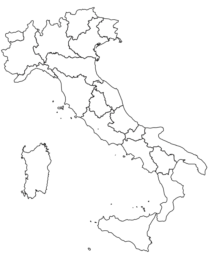Amato Cartina Geografica Dell Italia Meridionale | Tiesby Nelson VO97