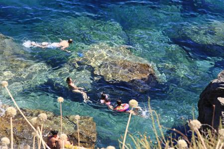 Vacanze a santa cesarea terme affitti case vacanza - Bagno marino archi santa cesarea ...