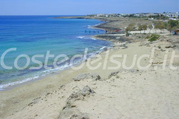 Le foto di spiagge di sabbia del salento