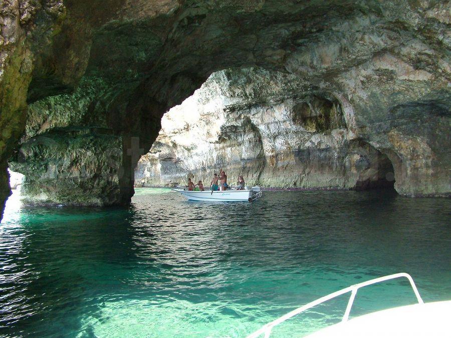 interno Grotta Tre Porte