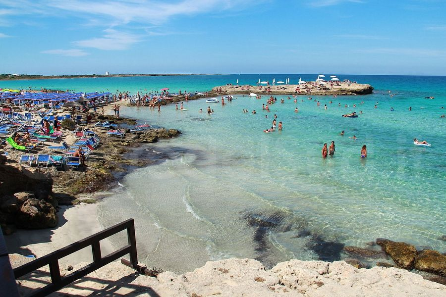 Punta della Suina, spiagge Salento