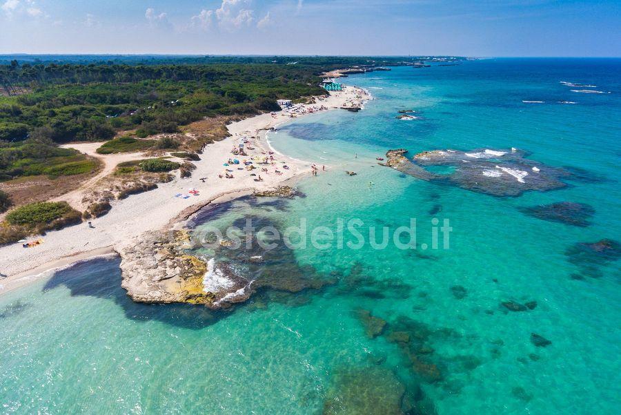 Cartina Puglia San Foca.San Foca Vista Aerea Foto Di San Foca