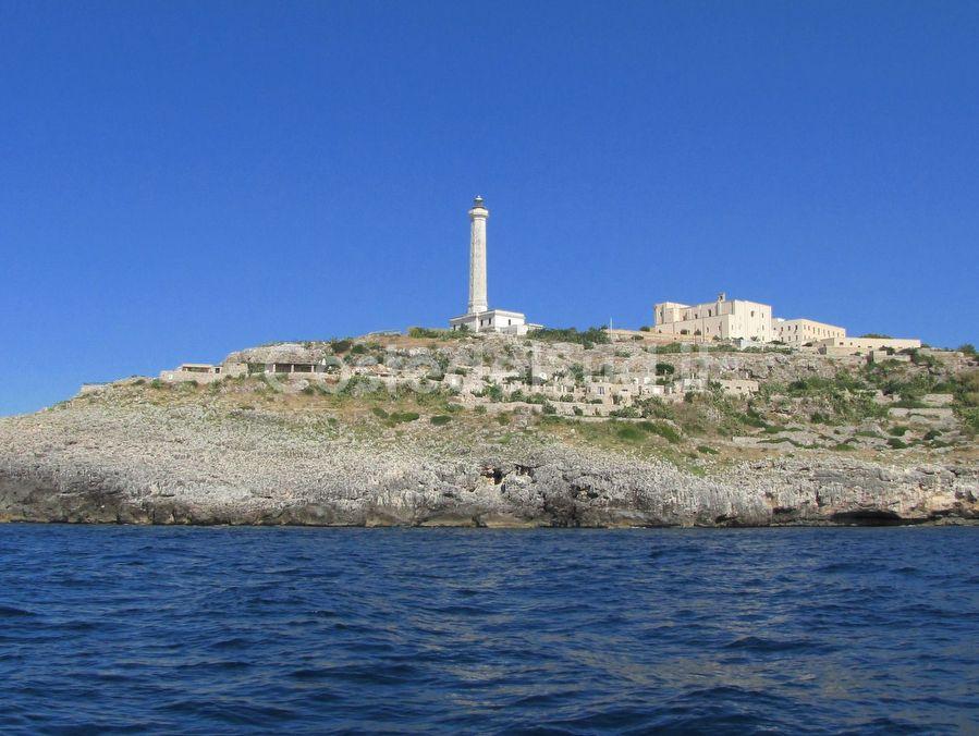 il Faro Leuca Visto Dal Mare