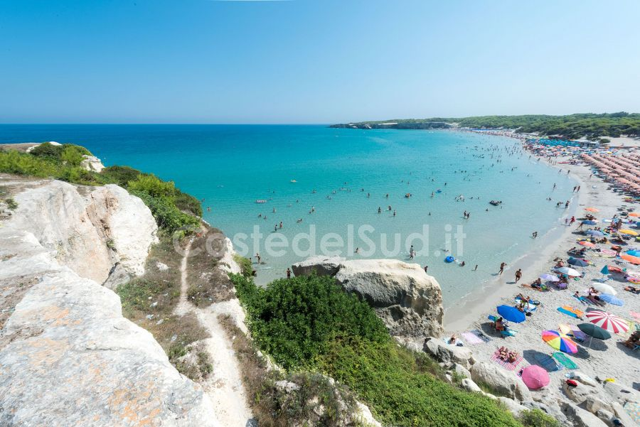 panoramica Sulla Spiaggia