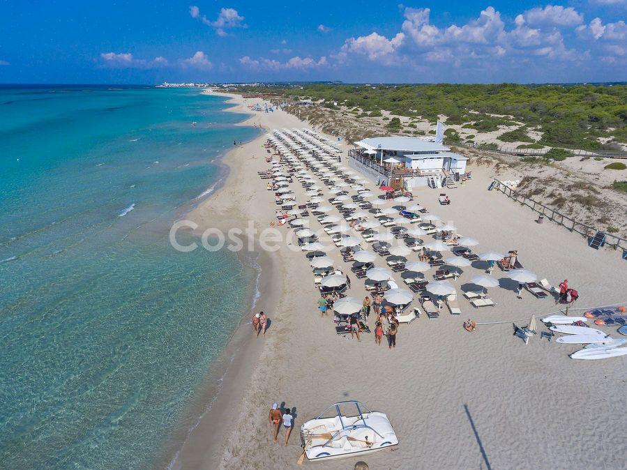 spiaggia Torre San Giovanni Vista Aerea
