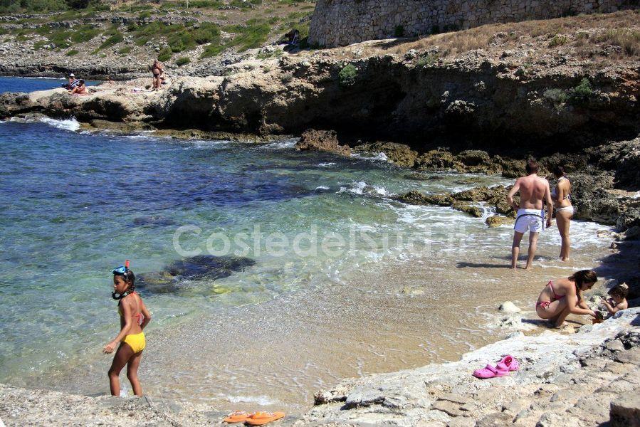bagnanti Alla Spiaggetta