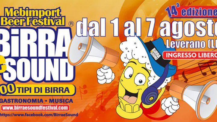 Eventi Salento: Birra e Sound Festival 2018, Leverano