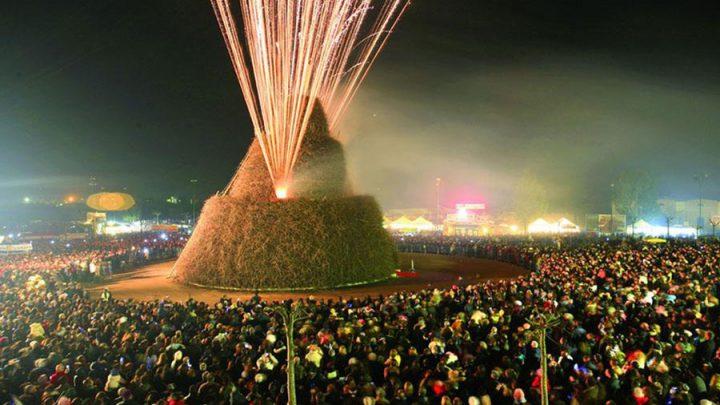 Celebre festa Salento: Focara di Novoli