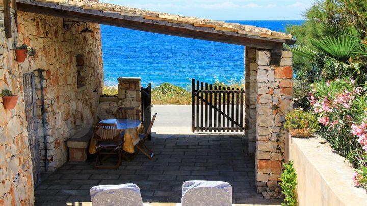 5 case vacanza fronte mare