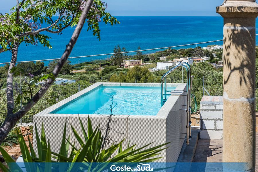 5 ville con piscina in Salento